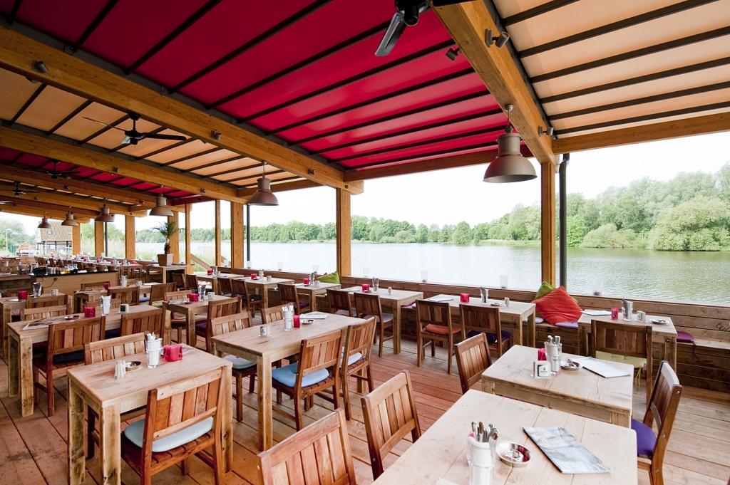Pier  Cafe Riverside Park