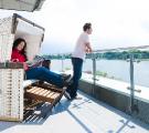 Riverside Hotel Nordhorn Dachterrasse